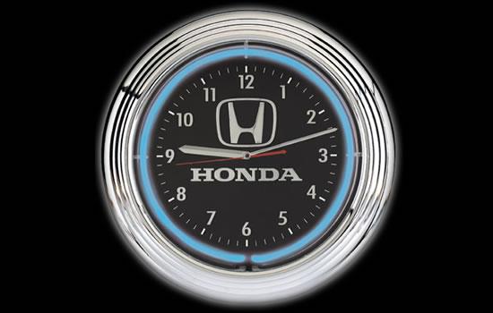 Honda Neon Clock